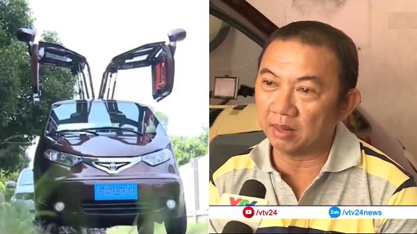 """Gặp anh """"kỹ sư chân đất"""" người Sài Gòn chế tạo chiếc ô tô điện đầu tiên của  Việt Nam"""