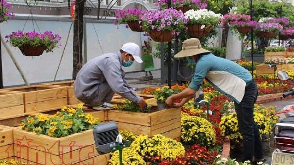 TP Hồ Chí Minh cấm một số tuyến đường để phục vụ các hoạt động lễ hội Tết 2018