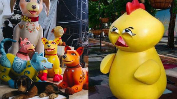 Nhìn lại hình ảnh những linh vật ở đường hoa Nguyễn Huệ trong 5 năm trở lại đây