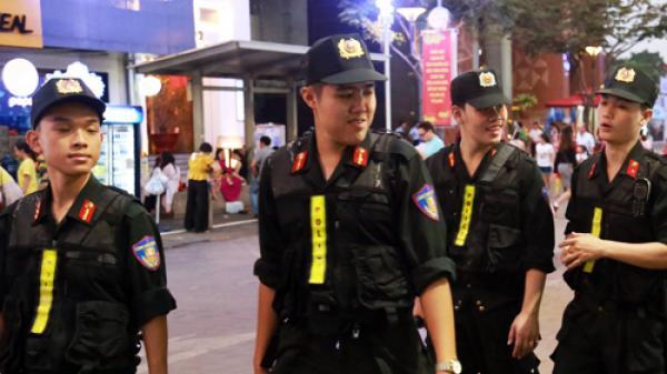 An ninh ở đường hoa Nguyễn Huệ tốt nhất từ trước đến nay