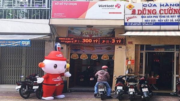 Cửa hàng Vietlott ở TP HCM lần thứ ba bán vé trúng độc đắc