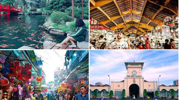 Những địa điểm du lịch không thể bỏ qua trong năm Mậu Tuất 2018 khi đặt chân đến TP. Hồ Chí Minh!