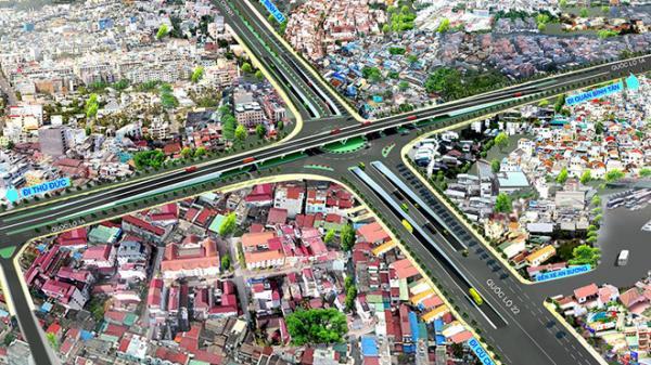 Nhánh N1 hầm chui ngã tư An Sương - Sài Gòn sắp thông xe