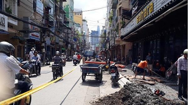 """Phố đi bộ Bùi Viện ở Sài Gòn trước giờ """"G"""""""