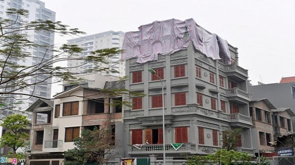 Cận cảnh biệt thự sai phép của gia đình tướng Nguyễn Thanh Hóa