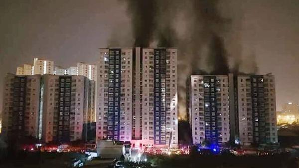 Nguyên nhân ban đầu vụ cháy chung cư ở TP.HCM 13 người thiệt mạng