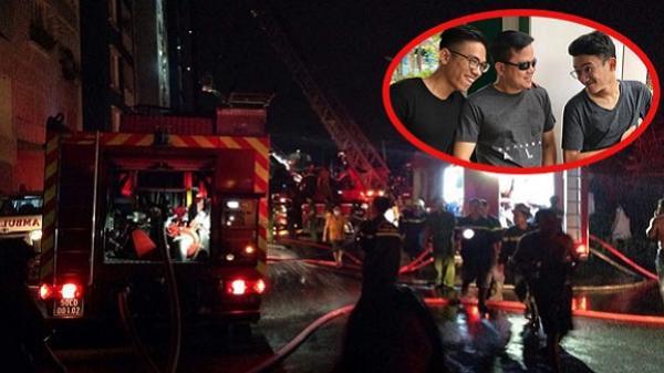Cháy chung cư Carina: Người bố kể phút cứu con thoát chết qua điện thoại