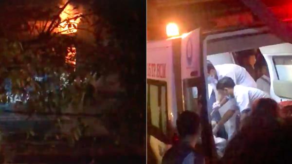 TP. HCM: Vợ chồng cùng 3 con nhỏ kêu cứu trong ngôi nhà bốc cháy dữ dội lúc nửa đêm, bé trai 2 tuổi tử vong