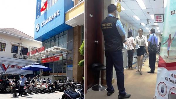 Đang khám xét, bắt giữ người ở Eximbank Chi nhánh TP.HCM