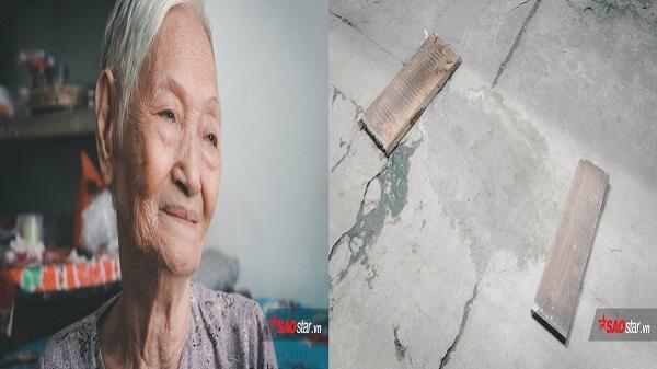 Cụ bà Hà Nội 80 tuổi tự tay trám ổ gà trong con hẻm Sài Gòn