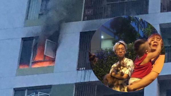 Cháy chung cư quận 2, thầy trò OnlyC cùng hàng trăm cư dân ôm thú cưng bỏ chạy