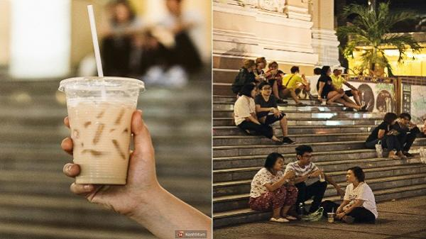 """Quán trà sữa """"huyền thoại"""" không bàn ghế, không biển hiệu nhưng ai cũng biết ở Sài Gòn"""