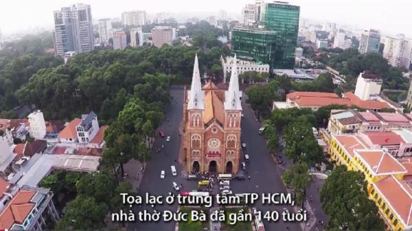 Mua ngói từ 2 quốc gia, nhà thờ Đức Bà được trùng tu như thế nào