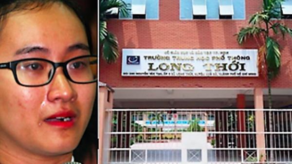 """Em Phạm Song Toàn và gia đình xin chuyển trường sau khi """"tố"""" cô giáo không giảng bài"""