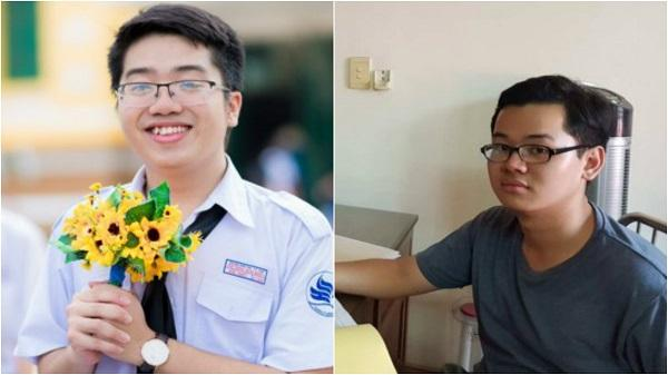 Hai nam sinh TPHCM đạt điểm tuyệt đối ở khối B