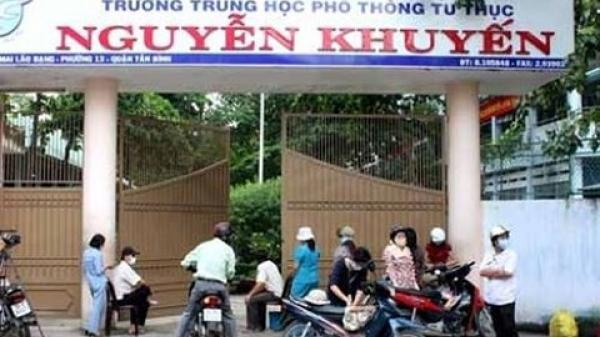 TP.HCM: Áp lực học tập, nam sinh lớp 10 trường THPT Nguyễn Khuyến tự tử