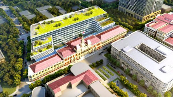 Trụ sở mới của UBND TP.HCM sẽ có 6 tầng nổi, 4 tầng hầm