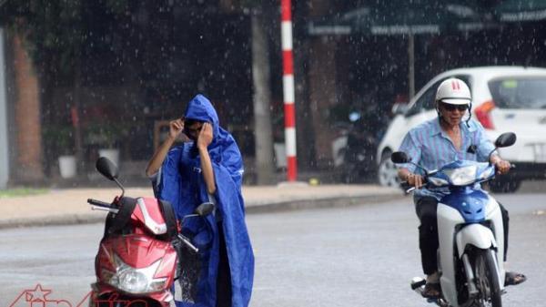 TP.HCM xuất hiện mưa rào và cảnh báo thời tiết trong 48 -72 giờ tới