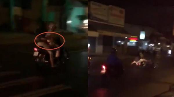 TP.HCM: Bị bắt lên xe chở về đồn, tổ lái thọc lét làm CSGT té giữa đường