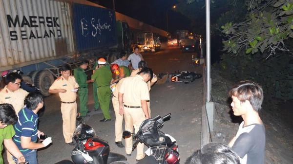 Truy tìm xe tải cán chết người đàn ông rồi rời khỏi hiện trường ở Sài Gòn