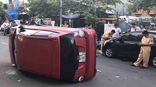 Tài xế 17 tuổi lái ô tô gây tai nạn ở Bình Thạnh