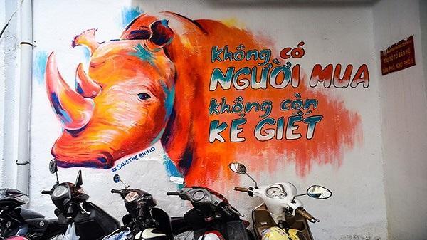 Đường phố Sài Gòn bất ngờ đẹp với những bức vẽ Graffiti