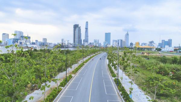 """Cận cảnh con đường """"dát kim cương"""" với chi phí 1.000 tỷ đồng/km của Đại Quang Minh"""