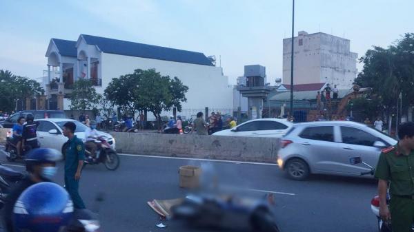 TP.HCM: Xe biển xanh cán c.hết nữ công nhân trên đại lộ Phạm Văn Đồng, người thân gào khóc thảm thiết