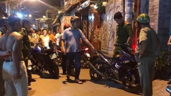 Hơn 50 cảnh sát vây bắt nghi can đâm hiệp sĩ Sài Gòn trong đêm