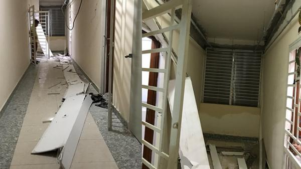 Sập trần thạch cao chung cư ở Sài Gòn, cư dân hoảng loạn