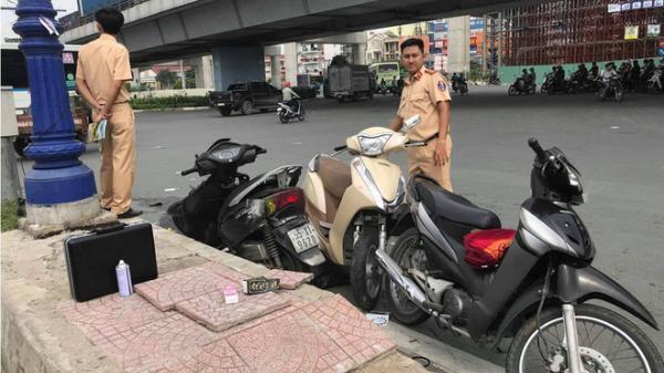 Tài xế ô tô nghi say xỉn tông hàng loạt xe máy, bé gái 4 tuổi nhập viện ở Sài Gòn