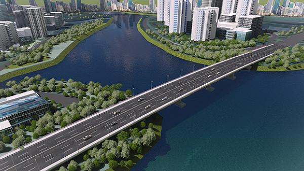 Ngày mai (30/05), thông xe cầu qua đảo Kim Cương
