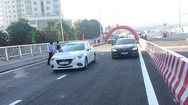 Thông xe cầu qua đảo Kim Cương, quận 2 đi quận 1 chỉ 10 phút