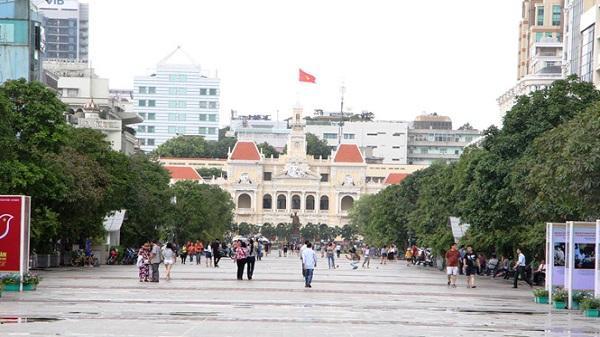 Cấm xe phố Nguyễn Huệ để làm lễ xuất quân dự SEA Games 29