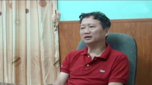 Trịnh Xuân Thanh: 'Tôi về đầu thú để báo cáo đã nhận thức được khuyết điểm và xin lỗi'