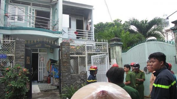 Cháy nhà ở Sài Gòn, cô gái nhảy từ tầng 2 thoát thân