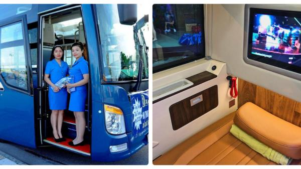 Xe VIP đẳng cấp hơn hạng thương gia máy bay tuyến Sài Gòn - Nha Trang với giá vé siêu rẻ