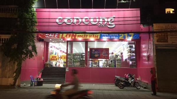 Tạm giữ hơn 10.000 sản phẩm vi phạm nhãn mác tại 70 cửa hàng Con Cưng ở TP.HCM