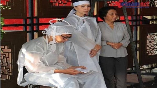 TP.HCM: Vợ con NSƯT Thanh Hoàng thất thần trước linh cữu