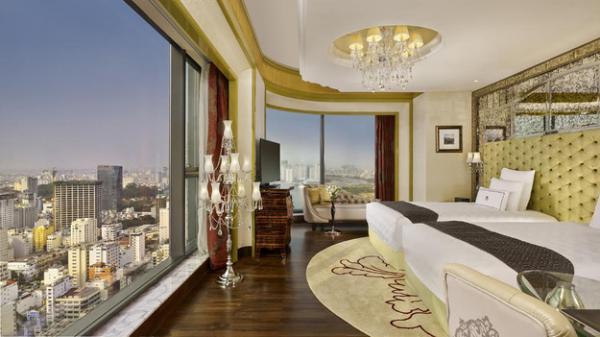 Choáng ngợp hình ảnh bên trong khách sạn 6 sao ở Sài Gòn vừa lọt top 10 khách sạn sang trọng nhất châu Á