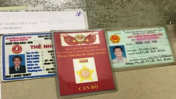 GrabBike dùng thẻ giả tình báo Bộ Tham mưu để lừa đảo