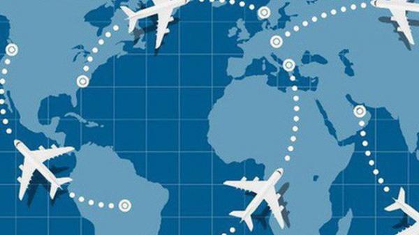 Máy bay không bay theo đường thẳng bao giờ - tưởng dễ mà mấy ai biết được nguyên do