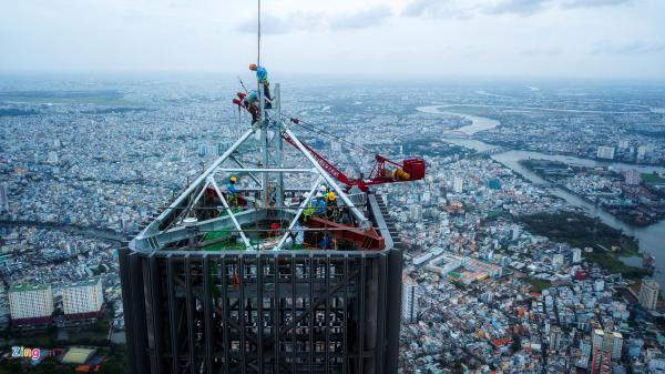 3 ngày săn ảnh vượt đỉnh tòa tháp chọc trời Sài Gòn