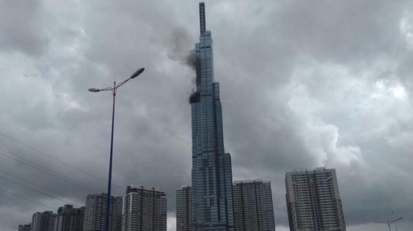 Dân mạng nháo nhào với tin tòa nhà cao nhất Việt Nam Landmark 81 bốc cháy