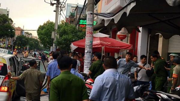 Ngáo đá đi cướp tiền tại một ngân hàng ở Tân Phú, TP.HCM