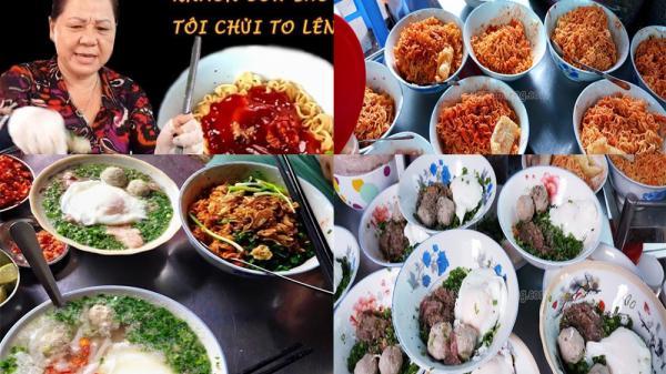 """""""Bún chửi"""" cô Huyền khét tiếng Sài Gòn: 50k/bát mì tôm, càng chửi to càng đông khách"""