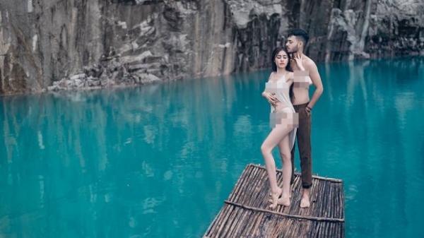 Lâm Đồng đề nghị công an vào cuộc vụ Á hậu Thư Dung mặc phản cảm ở điểm du lịch tại Đà Lạt