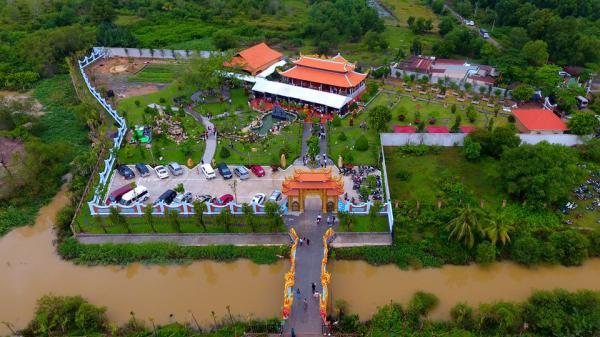 Toàn cảnh nhà thờ Tổ hoành tráng trên khu đất rộng 7.000 m2 của Hoài Linh ở Sài Gòn