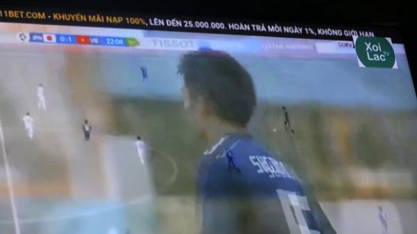 'Xôi lạc TV' phát 'lậu' U23 Việt Nam hạ Nhật Bản: Tận cùng của sự xấu hổ!
