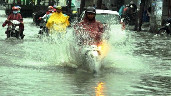 Sài Gòn sẽ có mưa rất lớn vào chiều tối, nguy cơ ngập nhiều nơi